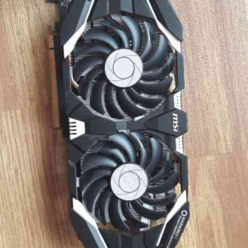 Видеокарты MSI GTX 1060 6Gb mining edition (6 штук)